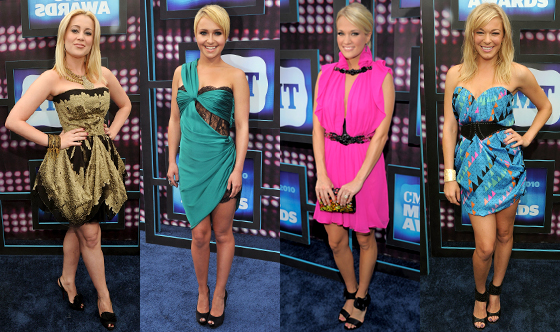 Kellie Pickler, Hayden Panettiere, LeAnn Rimes, Carrie Underwood