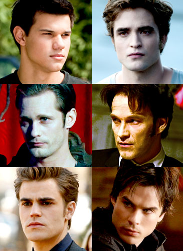 Taylor Lautner, Robert Pattinson, Stephen Moyer, Alexander Skarsgard, Paul Wesley, Ian Somerhalder