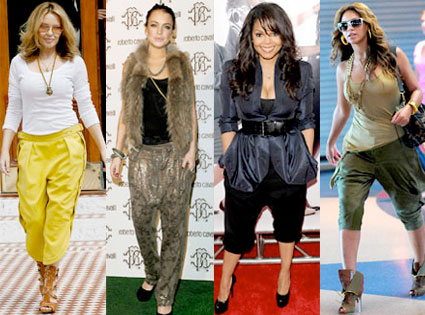 Kylie Minogue, Lindsay Lohan, Janet Jackson, Beyonce Knowles