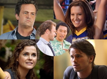 Jason Ritter, The Event, Keri Russell, Running Wilde, Matthew Perry, Mr. Sunshine, Daniel Dae Kim, Hawaii Five-0, Ashley Tisdale, CW's Hellcats