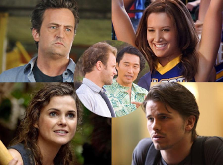 Jason Ritter, The Event, Keri Russell, Running Wilde, Matthew Perry, Mr. Sunshine, Daniel Dae Kim, Hawaii Five-0, Ashley Tisdale, CW's Hellcats