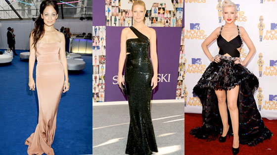 Nicole Richie, Gwyneth Paltrow, Christina Aguilera