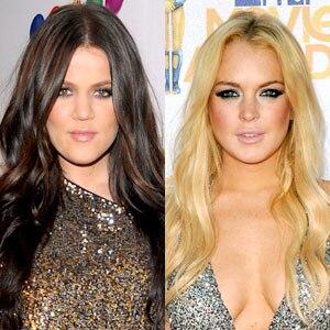 Khloe Kardashian Odom, Lindsay Lohan