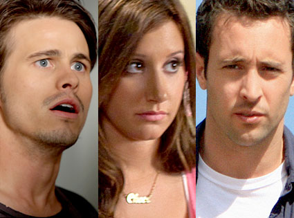 Jason Ritter, The Event, Ashley Tisdale, Hellcats, Alex O'Loughlin, Hawaii Five-O