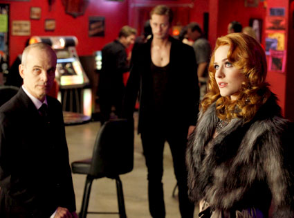 Zeljko Ivanek, Alexander Skarsgard, Evan Rachel Wood, True Blood