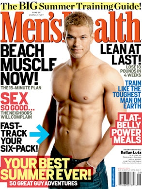 Men's Health, Kellan Lutz