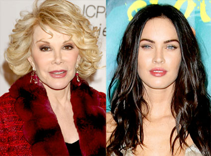 Joan Rivers, Megan Fox