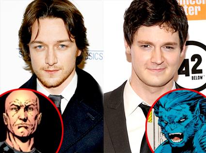 James McAvoy, Benjamin Walker, Professor X, Beast