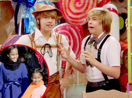 The Suite Life of Zack and Cody, Sasha Obama, Malia Obama