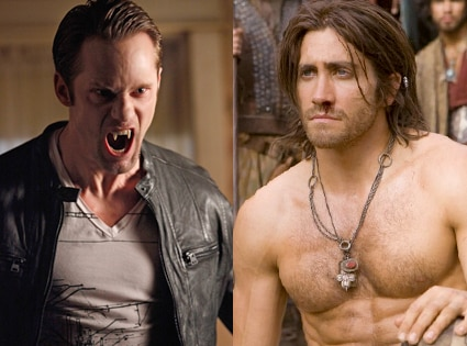 Alexander Skarsgard, True Blood, Jake Gyllenhaal, Prince of Persia
