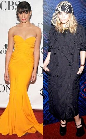 Lea Michele, Ashley Olsen