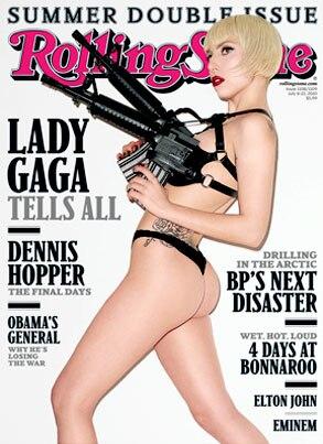 Lady Gaga, Rolling Stone Magazine