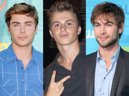 Zac Efron, Kenny Wormald, Chace Crawford