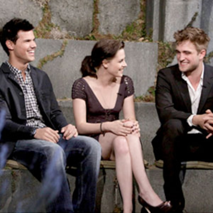 Taylor Lautner, Kristen Stewart, Robert Pattinson, Jimmy Kimmel Live's Twilight Saga: Total Eclipse of the Heart