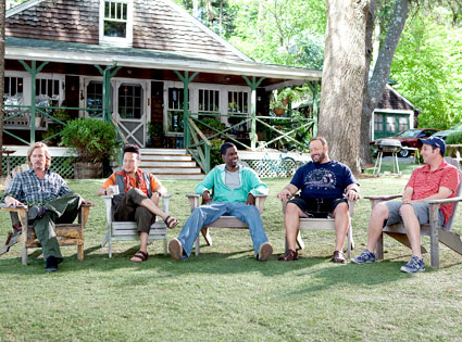 David Spade, Rob Schneider, Chris Rock, Kevin James, Adam Sandler, Grown Ups