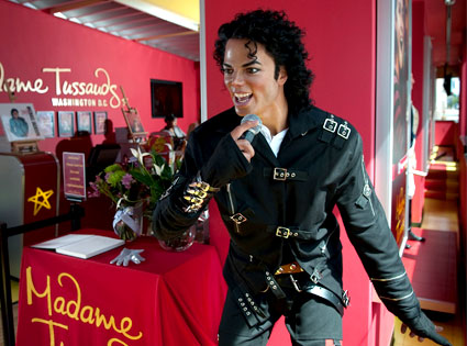 Michael Jackson, Madame Tussauds Wax Figure