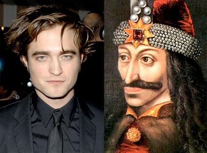Robert Pattinson, Vlad the Impaler