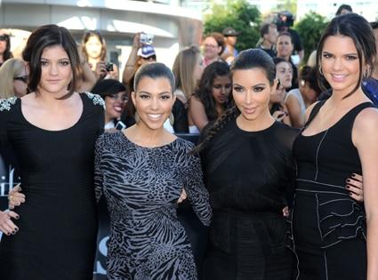 Kylie Jenner, Kourtney Kardashian, Kim Kardashian, Kendall Jenner