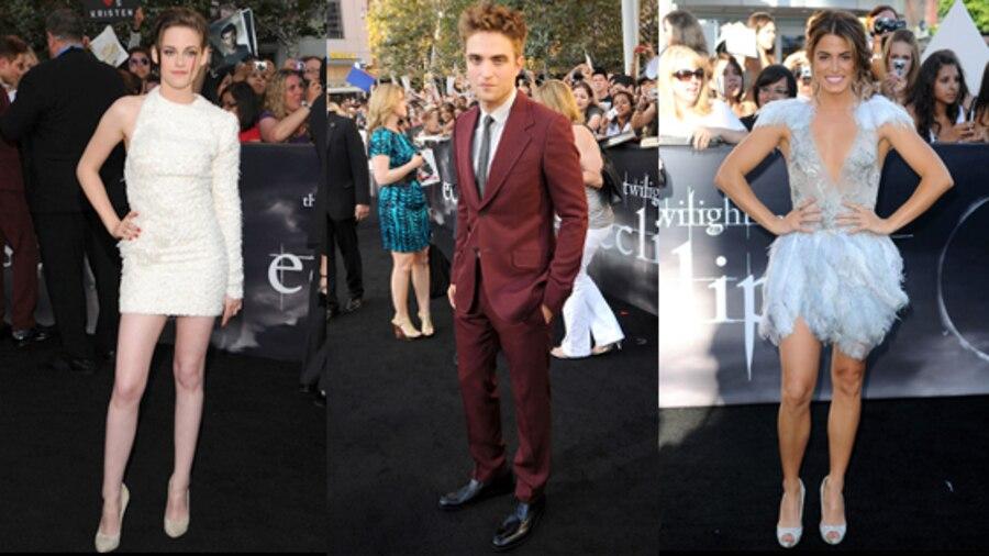 Kristen Stewart, Robert Pattinson, Nikki Reed