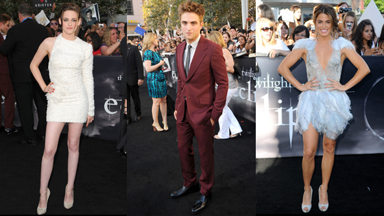 Kristen Stewart, Robert Pattinson, Nikki Reed