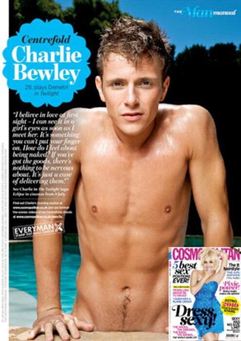 Charlie Bewley, Cosmopolitan UK