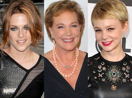 Kristen Stewart, Julie Andrews, Carey Mulligan