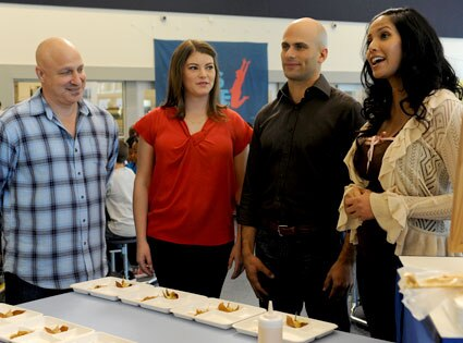 Top Chef, Tom Colicchio, Gail Simmons, Sam Kass, Padma Lakshmi