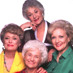 Rue McClanahan, Bea Arthur, Estelle Getty, Betty White, Golden Girls