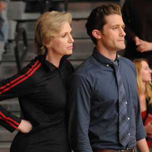 Glee, Jane Lynch, Matthew Morrison