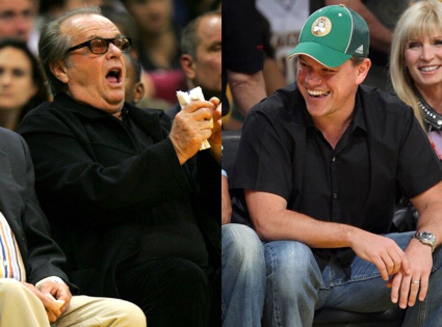Jack Nicholson, Matt Damon
