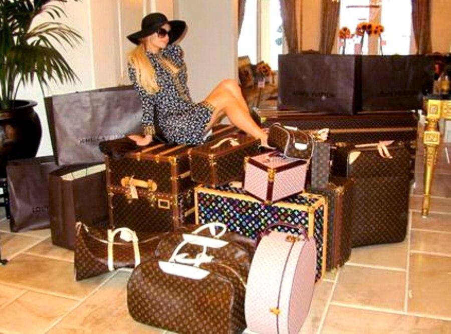 Paris Hilton, Twit Pic