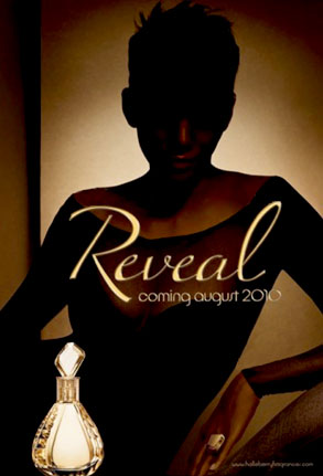 Halle Berry, Reveal Perfume Ad