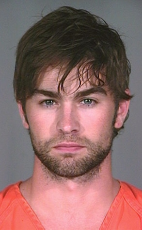 Chace Crawford, Mug shot