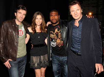 Sharlto Copley, Jessica Biel, Quinton 'Rampage' Jackson, Liam Neeson