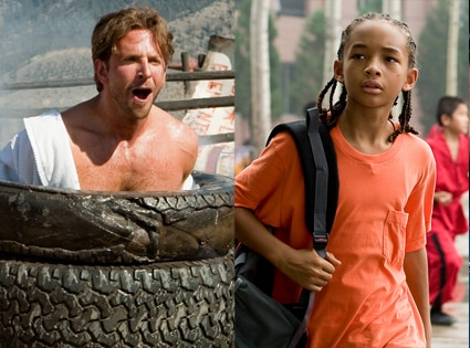 A-Team, Bradley Cooper, Karate Kid, Jaden Smith