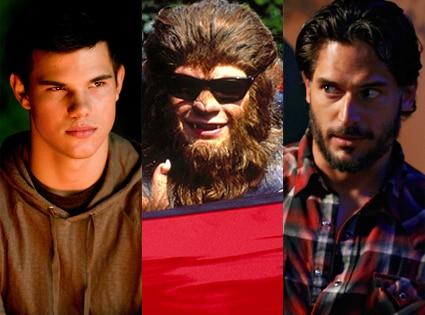 Taylor Lautner, New Moon, Jason Bateman, Teen Wolf Too, Joe Manganiello, True Blood