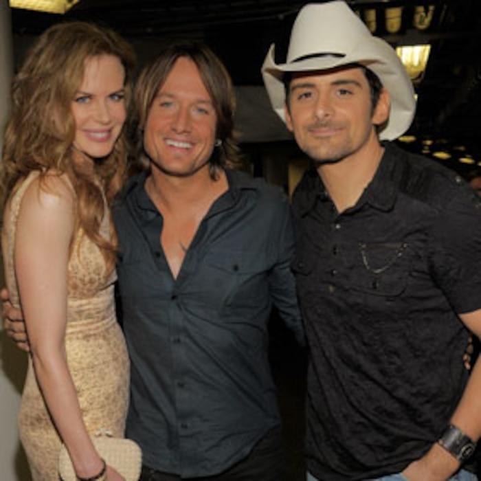 Nicole Kidman, Keith Urban, Brad Paisley