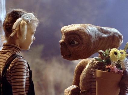 ET, E.T., Extra Terrestrial, Drew Barrymore