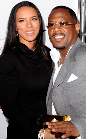 Martin Lawrence Amp Shamicka Gibbs From Big Celebrity