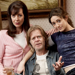 Shameless, Allison Janney, William H. Macy, Emmy Rossum