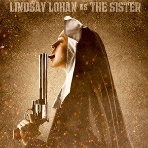 Lindsay Lohan, Machete Poster