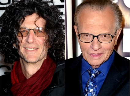 Howard Stern, Larry King