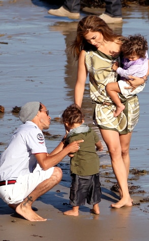 Jennifer Lopez, Emme, Max, Marc Anthony