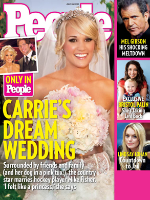 People Magazine Cover, Carrie Underwood
