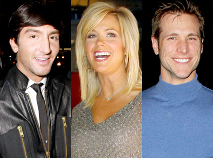 Evan Lysacek, Kate Gosselin, Jake Pavelka