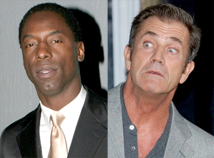 Isaiah Washington, Mel Gibson