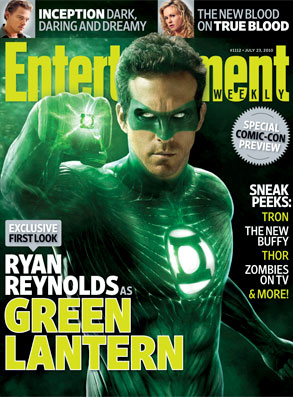 Ryan Reynolds, EW Cover