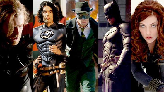 Chris Hemsworth, Russell Brand, Seth Rogen, Christian Bale, Scarlett Johansson
