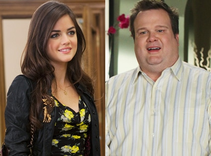 Lucy Hale, Pretty Little Liars, Eric Stonestreet, Modern Family