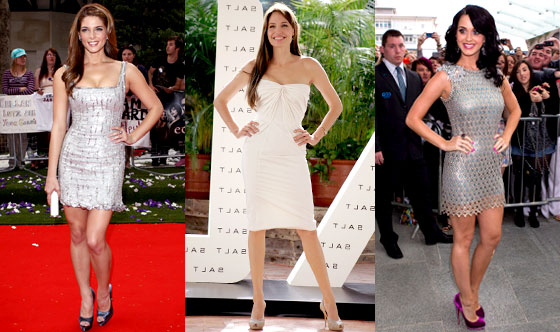 Katy Perry, Ashley Greene, Angelina Jolie